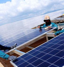 Cung cấp lắp đặt hệ thống điện mặt trời